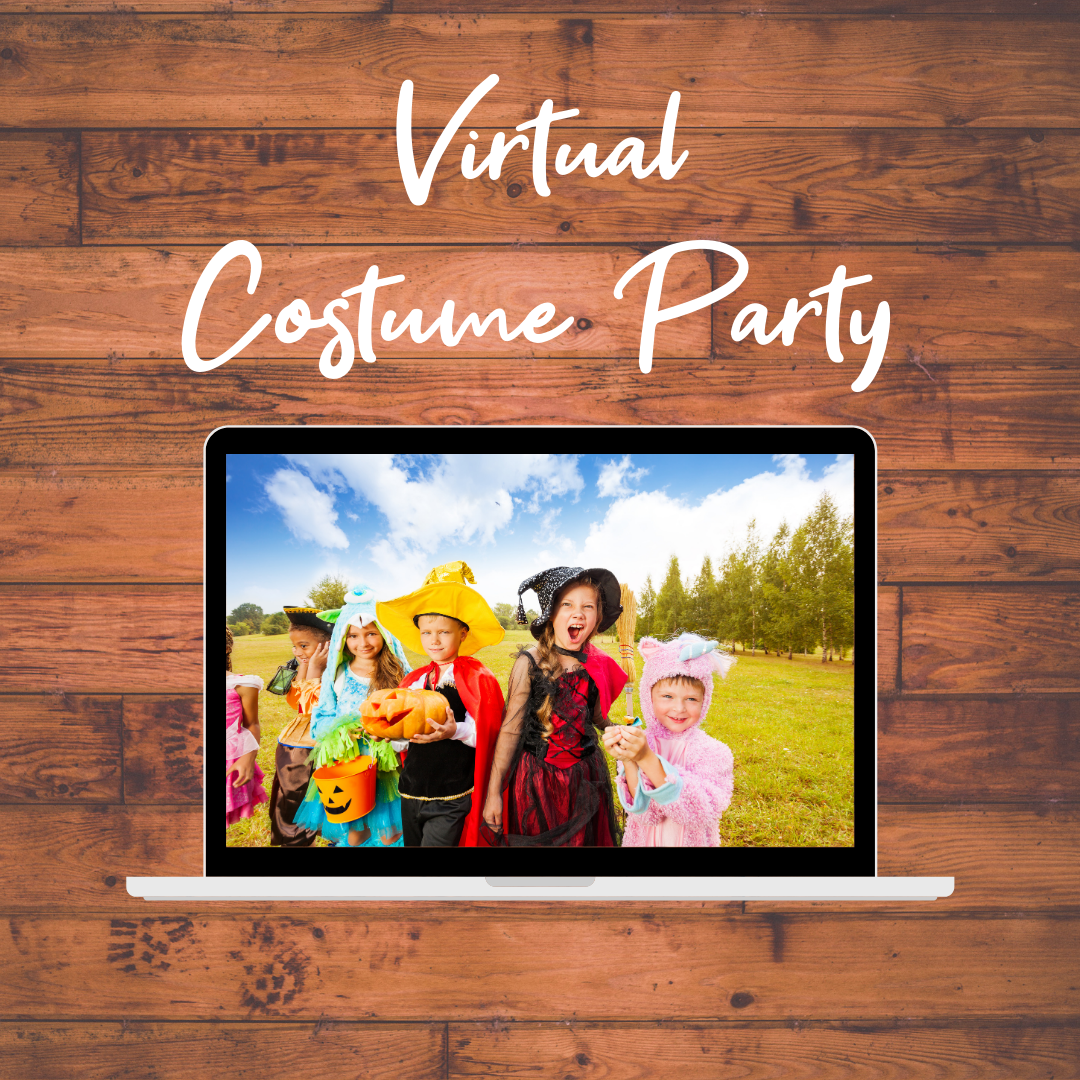 Virtual Costume Parties for ages 2-5 & 6-9