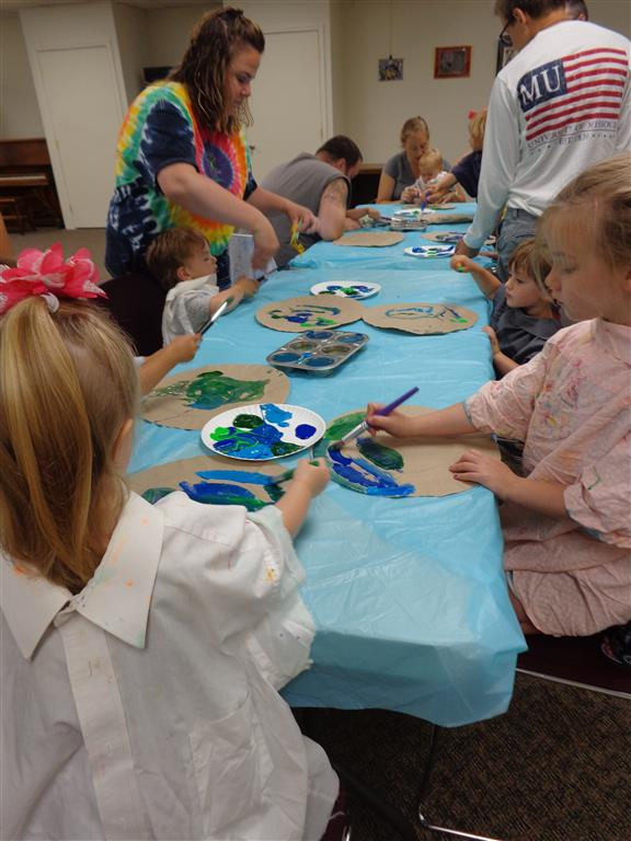 Little Builders Story Hour July 12, 2017
