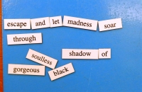 Magnetic Poetry 2017 Poem 1