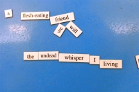 Magnetic Poetry 2017 Poem 6