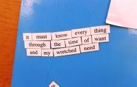 Magnetic Poetry 2017 Poem 14