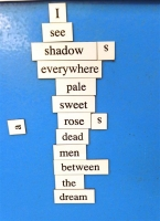Magnetic Poetry 2017 Poem 17