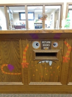 Halloween Book Drop October 2017