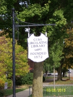 Cuba Library Sign