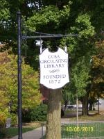 Cuba Library Sign