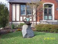 "Statue of ""Girl Reading"""