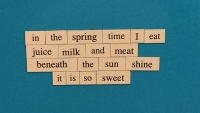 Evolving Teen Poem 1 - April 7, 2015