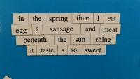 Evolving Teen Poem 1 Version 2 - April 14, 2015