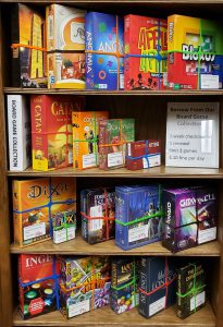 library board game collection A - L