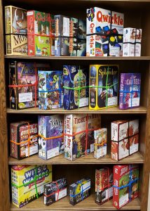 library board game collection M - Z