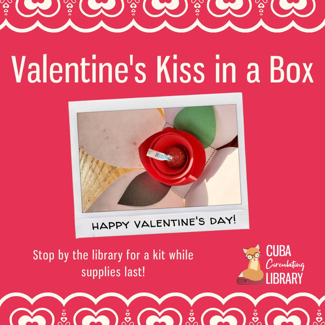 Valentine's Kiss in a Box Kit