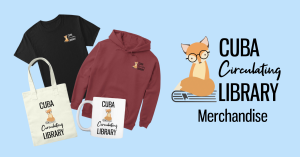 Cuba Library merchandise store link