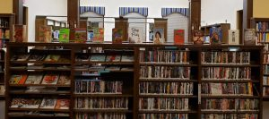 staff picks book display