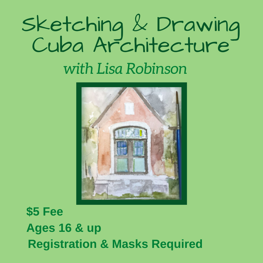 Sketching & Drawing Cuba Architecture