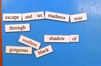 Magnetic Poetry 2017 Poem 1