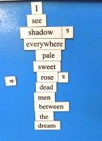 Magnetic Poetry 2017 Poem 17