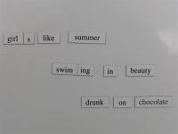 Evolving Poem - April 1, 2015